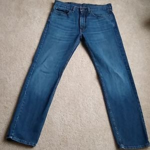 Levi's 505, 34x34 jeans. Medium wash